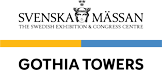 Logotype for Svenska Mässan Gothia Towers